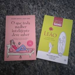 Kit 2 Livros O Que Toda Mulher Inteligente Deve Saber E Leão