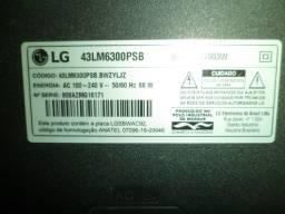 kit barras de led tv lg 43lm6300psb original leia anuncio