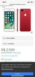 Celular 256 gigas 7  plus red