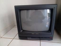 Título do anúncio: Vendo tv 14 polegadas antiga Philco-hitachi