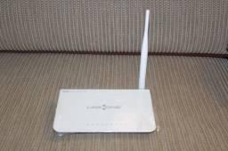 Título do anúncio: Roteador Wireless 4 Portas Link One L1 RW141 / Bivolt 8 cm x 29 cm x 23 cm