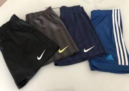 Calçoes Nike/Adidas infantil