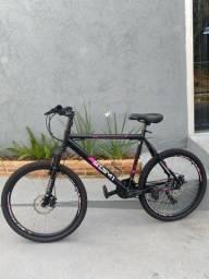 Título do anúncio: Bicicleta GTS Aro 26 Freio a Disco Câmbio Traseiro Shimano 21 Marchas Amortecedor Walk New