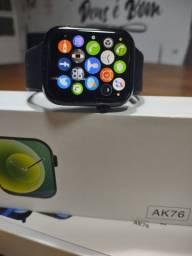 PROMOÇÃO Smartwatch IWO 13 AK76 BLUETOOTH CHMADAS MODELO 2021.