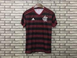 Camisa do Flamengo I S/nº 19/20 Adidas Torcedor