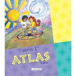 Meu 1° Atlas - Infantil Ibge - Nunca usado -- EM PERFEITO ESTADO