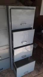 vende-se arquivo de aco com 4 gavetas