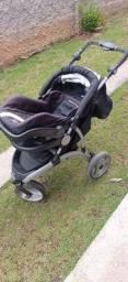 Título do anúncio: Carrinho de luxo + bebê conforto