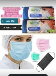 Máscaras Descartáveis Biotech 35$