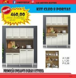 Título do anúncio: Armário de cozinha Cleo 8 portas promoção imperdível