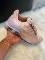 Nike shox rose preço de fábrica imperdível