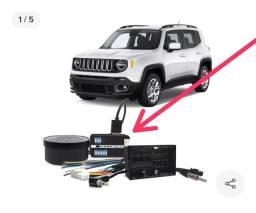 Interface de volante Jeep renegade
