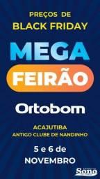 Título do anúncio: Mega Ferião Ortobom - Preços de Black Friday (5 e 6 de Novembro)
