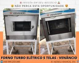 Forno turbo 5 telas elétrico para padaria - Venâncio | Matheus