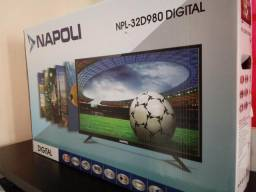 Tv Led 32 Digital Nova na Caixa