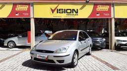 FORD FOCUS 2006/2007 1.6 GLX SEDAN 8V GASOLINA 4P MANUAL - 2007