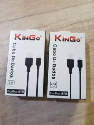 Cabo de dados V8 micro USB