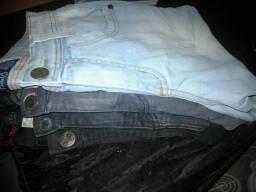 Calça jeans, as 4 por R$20