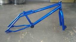 BMX Quadro e garfo Master Bikes 1995 old School