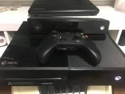 Xbox one com Kinect + jogos + live gold comprar usado  Ariquemes