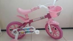 Bicicleta Infantil, Aro 12, Cor Rosa
