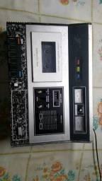 Toca fitas gravador Technics de mesa