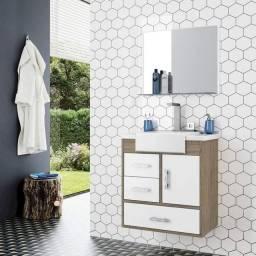 Conjunto armário para banheiro alhena JJJ718