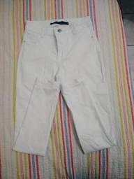 Jeans Branco Feminino