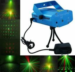 Lazer mini stage lighting progetor holográfico