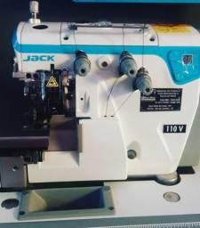 Máquina de Costura Overlock Direct Drive JACK E4 - Economia de 70% de Energia