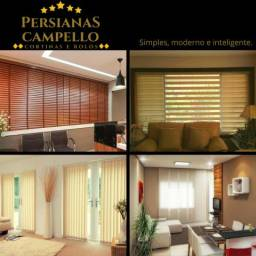 Persianas, cortinas e rolôs - Persianas Campello