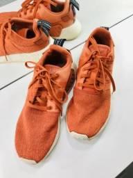 Adidas NMD R2 boost, cor laranja, Tamanho 41. ORIGINAL