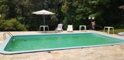 Sitio para locação de eventos com piscina em Santo Amaro da imperatriz