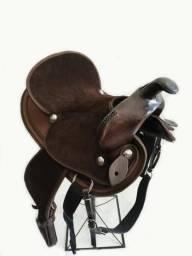 Sela para cavalo tambor e baliza super promoção