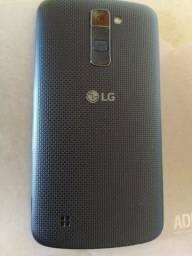 Smartphone LG K10 semi-novo, sem detalhes, com tv HD