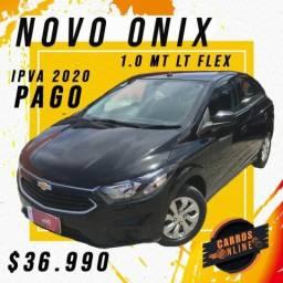 Onix 2018 LT 1.0 - Completo - IPVA 2020 PAGO - 2018