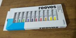 Aquarela Profissional Reeves 12 cores