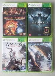 Jogos para Xbox 360 - Individual ou Kit (Favor ler o anúncio)