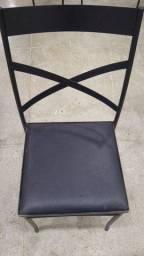 Cadeiras de ferro R$ 55