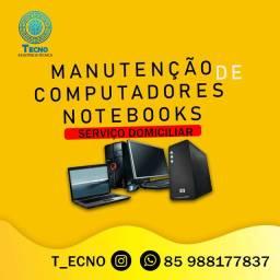Aceitamos Cartão - Técnico de Computador e Notebook Domiciliar
