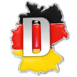 Adesivo Resinado,Alemanha,Carros,Vidros,Presente,Decoração,Importado
