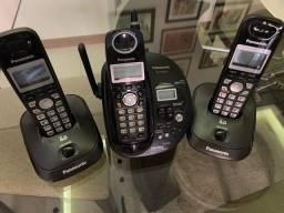 3 Telefones Panasonic