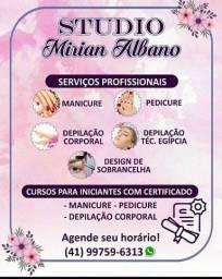 Manicure e pedicure cursos