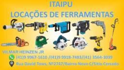 Aluguel de ferramentas Itaipu