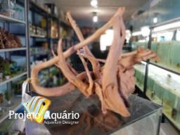 Raiz draft wood Ocean Tech para aquário