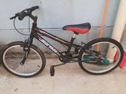 Bicicleta aro 20 Mormaii pouco tempo de uso