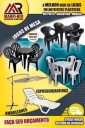 Título do anúncio: Mesa e cadeiras, jogos de mesa, artefatos plásticos