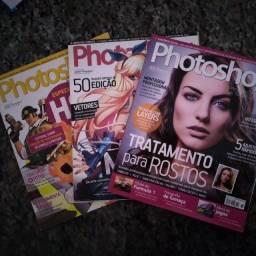Kit Revistas Photoshop Creative Vol. 69/70/72 Semi Novas