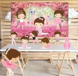 Título do anúncio: Kit decoração festa infantil Bailarina Locação
