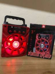 Título do anúncio: Caixas de som com jogos de luzes há pronta entrega